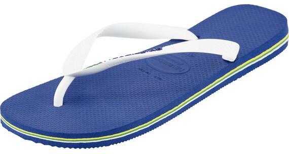 havaianas Brasil Logo Flips men Marine Blue